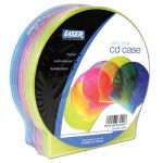 LASER Single clam-shell shape CD cases Multicolour
