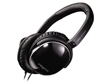 Creative Aurvana Live Headphones, 40mm Drivers